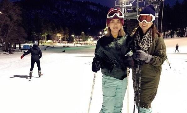 茶理理滑雪