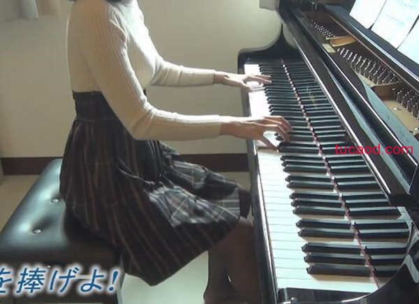 进击的巨人 Season 2 op_钢琴版_献出心脏 Linked Horizon_panpiano