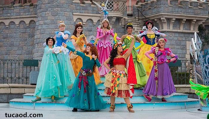 迪士尼乐园公主扮演者演员揭秘