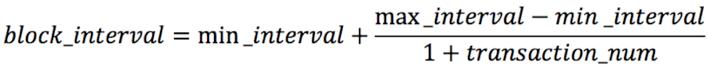 block间隔的计算公式