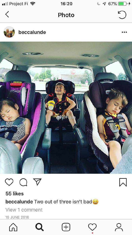 Selah坐车