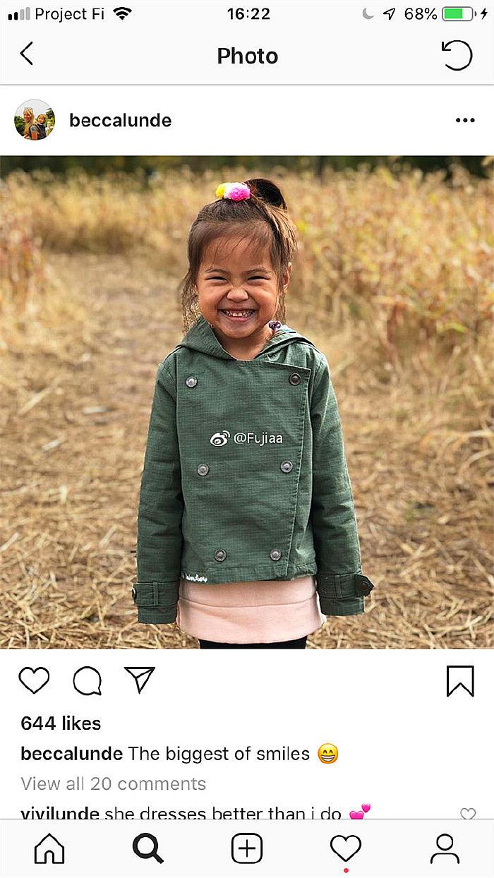 Selah的笑容