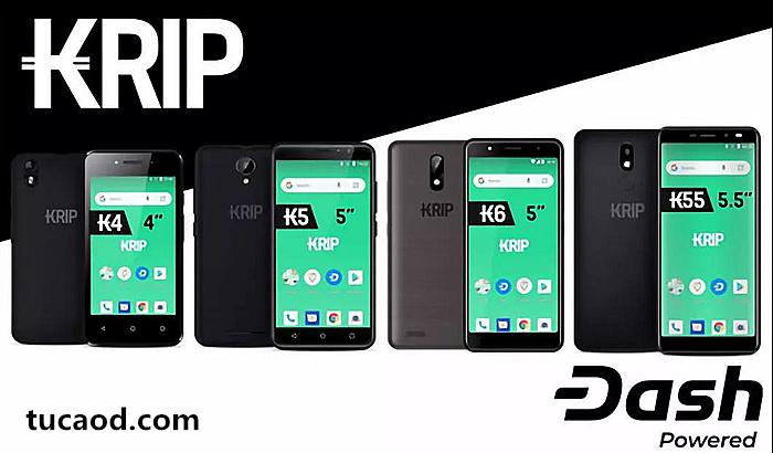 KRIP手机预装DASH应用程序_Kripto Mobile智能手机公司