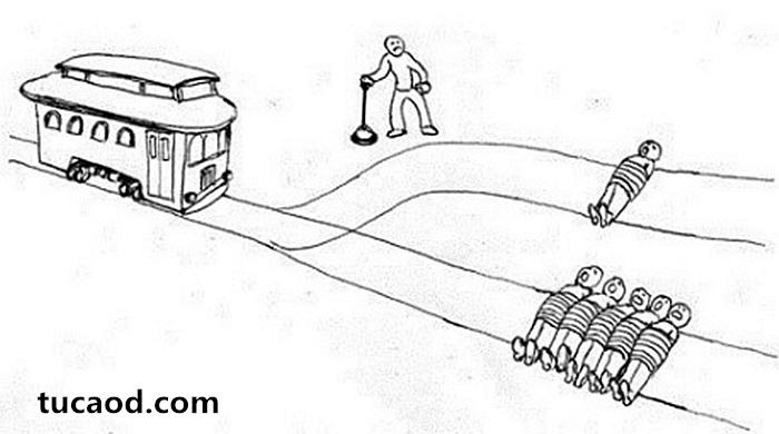 最典型的火车扳道岔问题