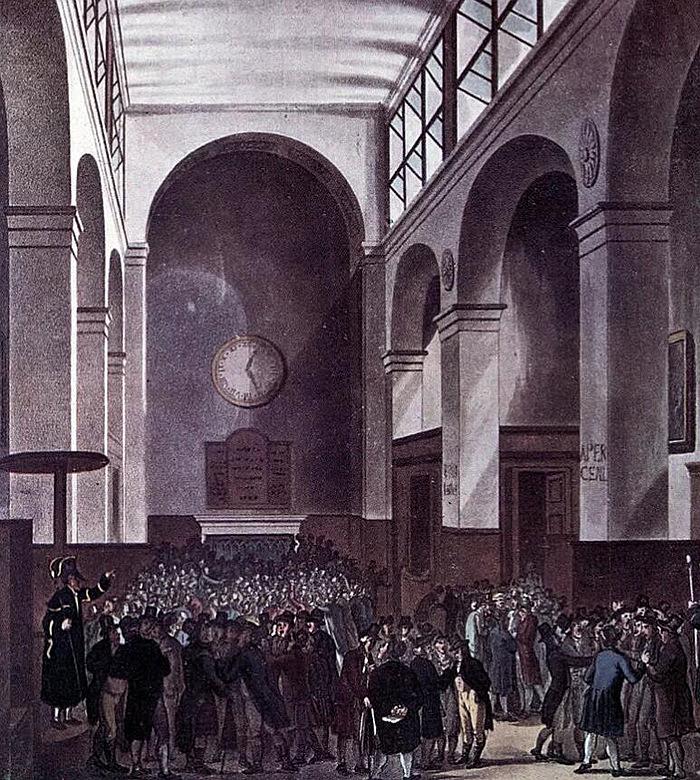 1810年伦敦证券交易所