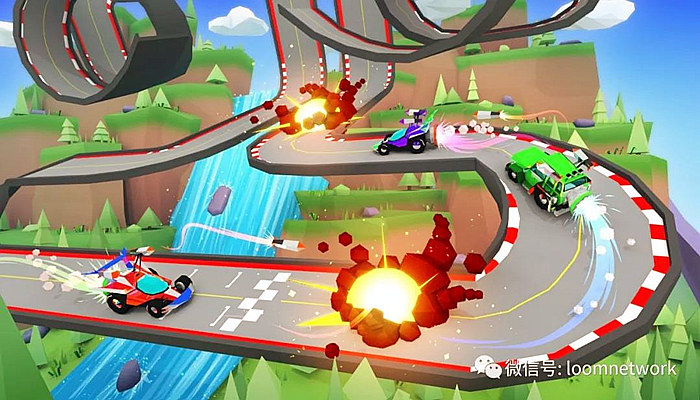 Battle Racers是一款动感十足的街机游戏