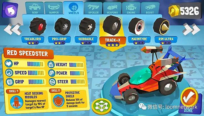 Battle Racers可以随心所欲组建各式各样的车