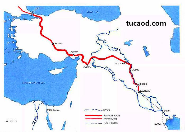 柏林到巴格达铁路