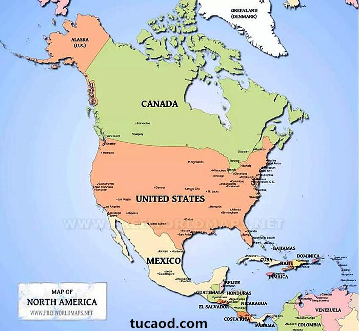 国家区分-人文地理
