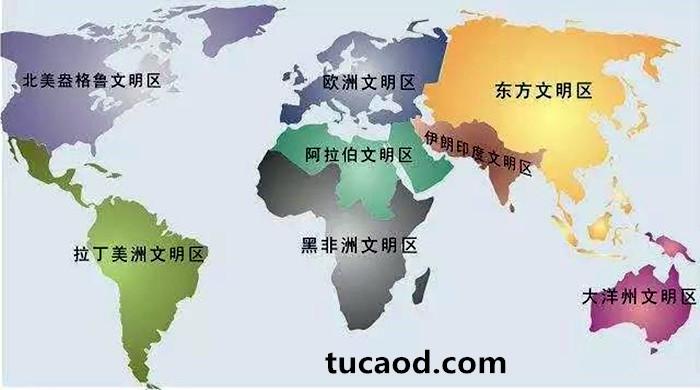 世界区域化的格局
