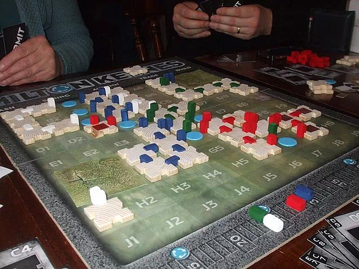 Gavin Wood设计的棋盘游戏