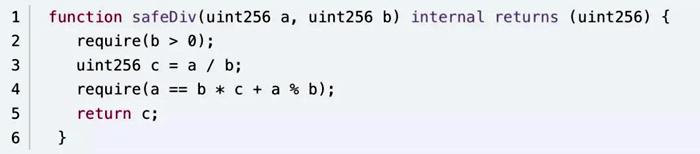 SafeMath源码除法