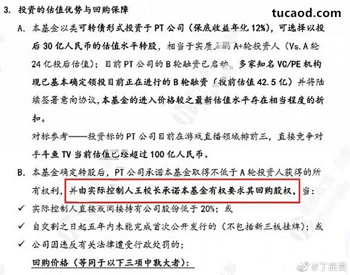 国内企业融资,熊猫直播,王思聪