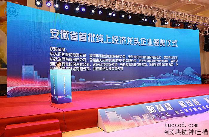 安徽省线上经济龙头企业(井通科技)