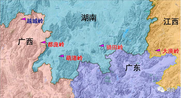 岭北对江东