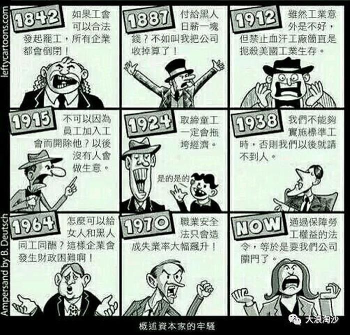 资本家利益
