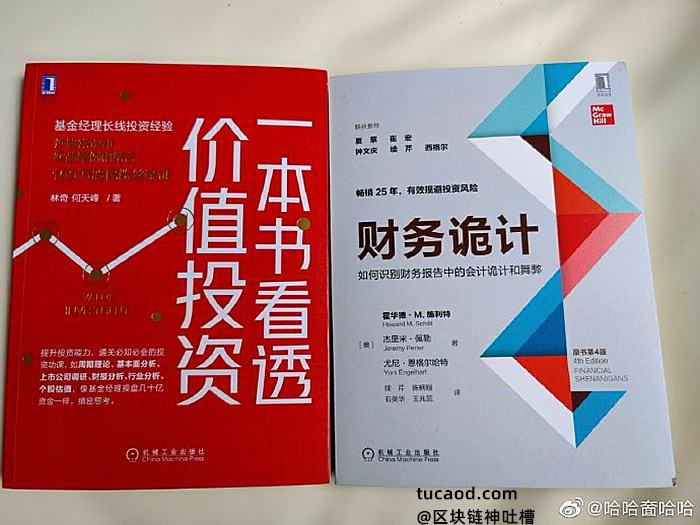 林奇私募书《看透价值投资》《财务诡计》