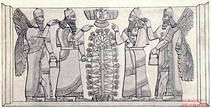 苏美尔人生命树临摹